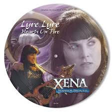 Xena Warrior Princess - Lyre Lyre Hearts On Fire (LP Pic Disc)