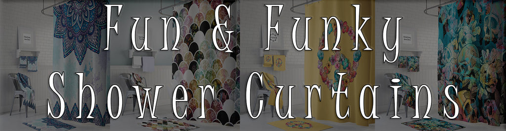 Fun & Funky Shower Curtain Page Banner
