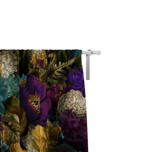 Romantic Floral Window Curtains