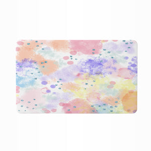 Pastel Abstract Bathroom Decor Shower Curtain