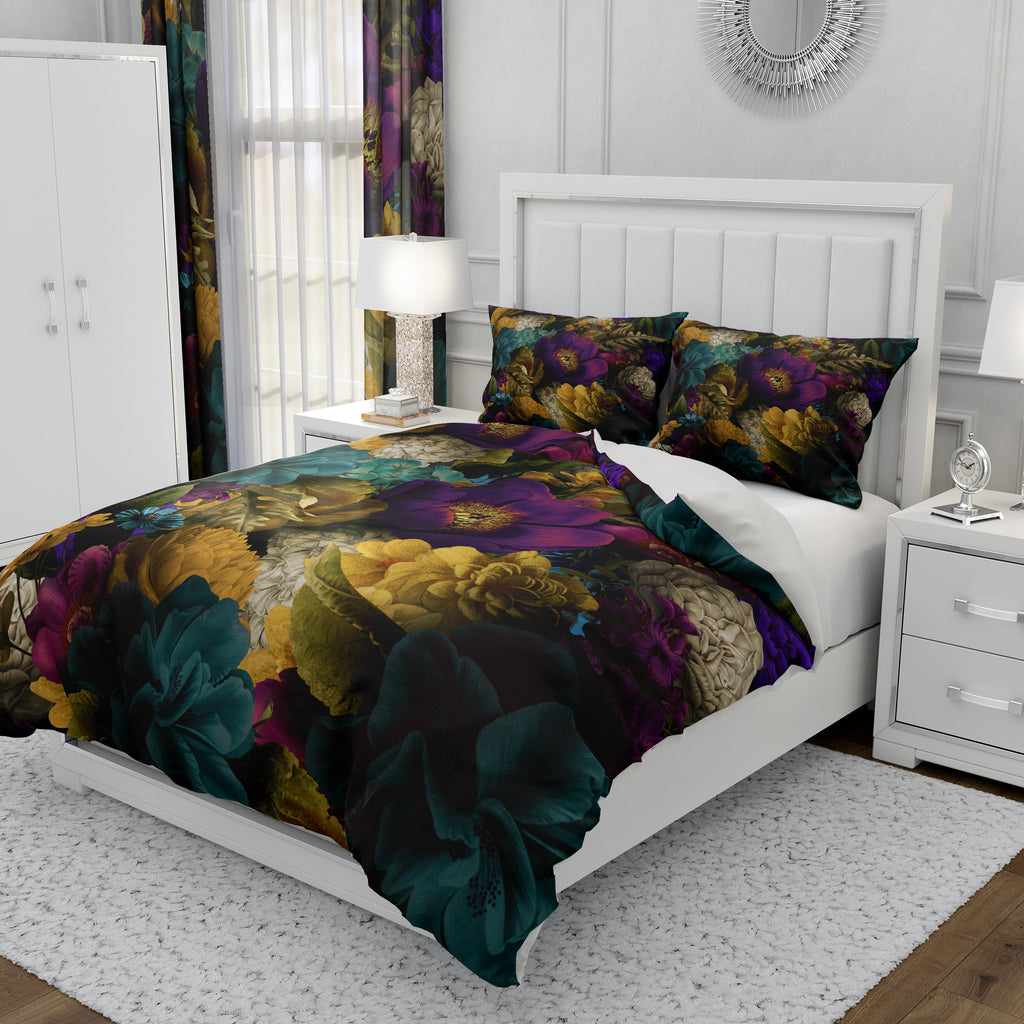 Romantic Floral Bedding Set