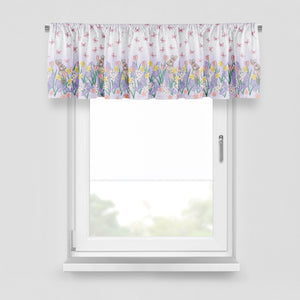 Floral Window Curtain Valance