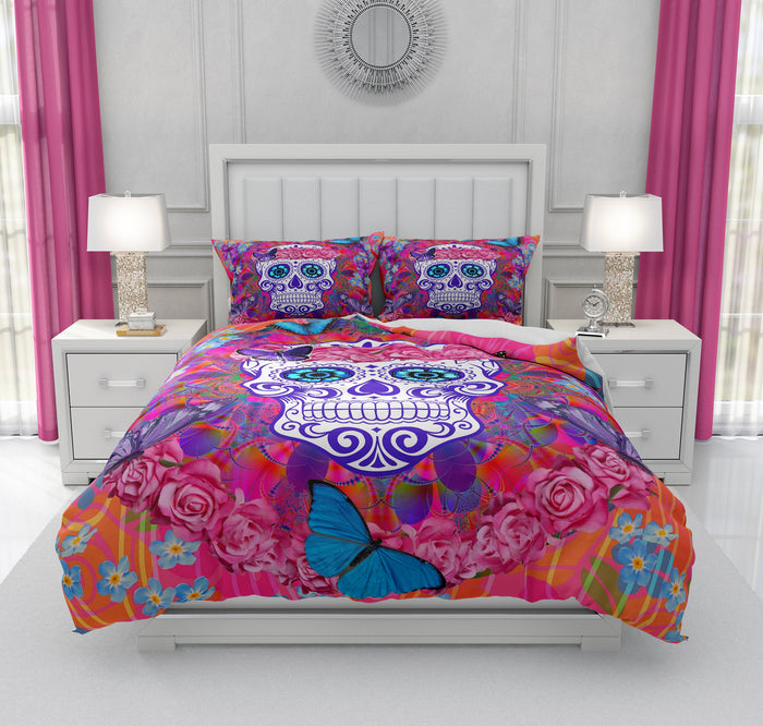 Miss Candace Sugar Skull Bedding