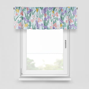 Blooming Floral Window Curtains