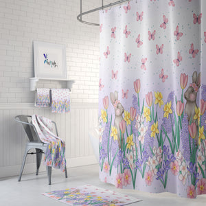 Spring Fresh Floral Bathroom Decor