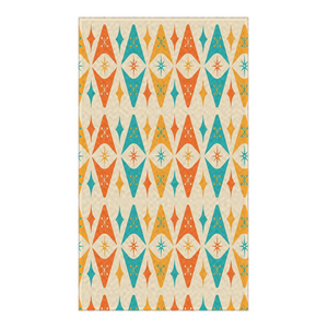 Mid Century Rug Atomic Diamond