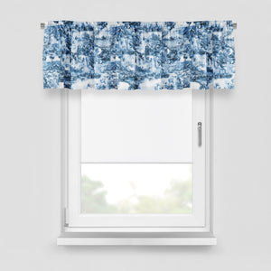 Blue Willow Window Curtains