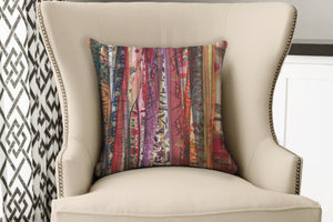 Boho Gypsy Rags Warm Decorative Throw Pillows