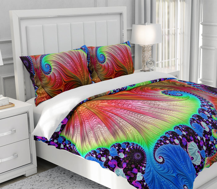 Color Wave Bedding Set