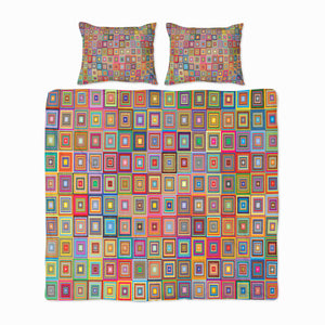 Retro Blocks Bedding Set