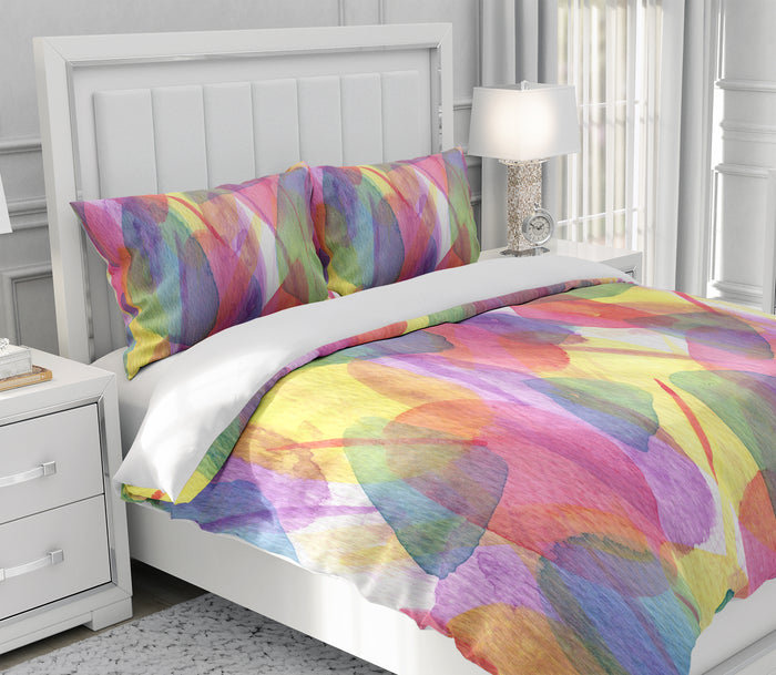 Botanical Watercolor Bedding