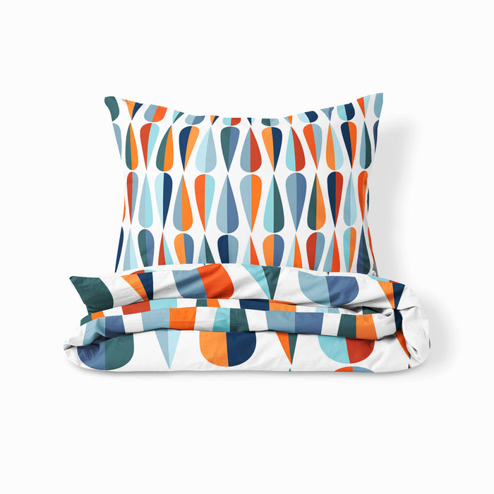 Retro Tears Mid Century Modern Bedding