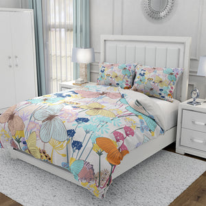 Butterfly Boho Comforter or Duvet Cover