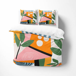 Memphis Abstract Comforter or Duvet Cover