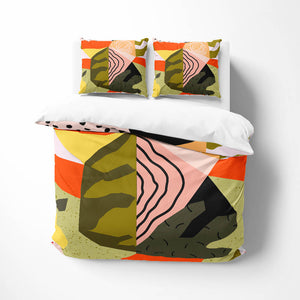 Memphis Sunrise Comforter or Duvet Cover