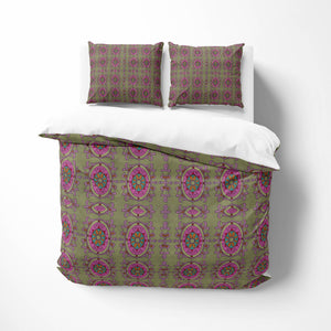Brown Bohemian Batik Bedding