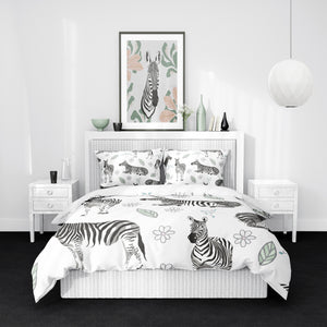Zebra Safari Bedding