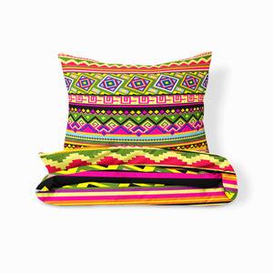 Colorful Tribal Pattern Bedding Set