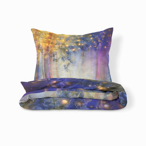 Boho Bedding Set, Lavender Nights