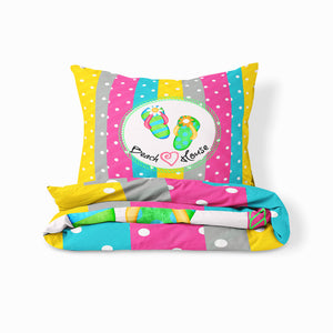 Colorful Beach Theme Bedding