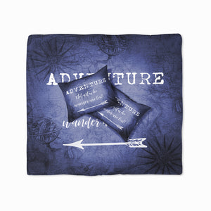 Blue Adventure Theme Bedding