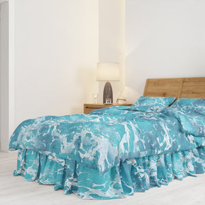Ocean Waters Bedding Set Comforter or Duvet Cover, Twin, Full, Queen, King,