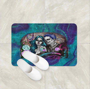 The Graffiti Art Couple Forevermore Couple Bath Mat