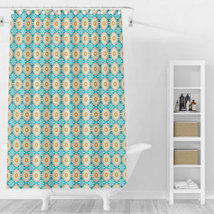 Meadow Daisies Floral Shower Curtain Options Bathroom Decor
