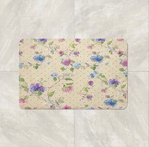 Timeless Rose Vintage Floral Shower Curtain