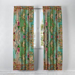 Boho Orient Window Curtains