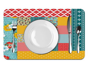 Hippie Peasant farmhouse Placemat