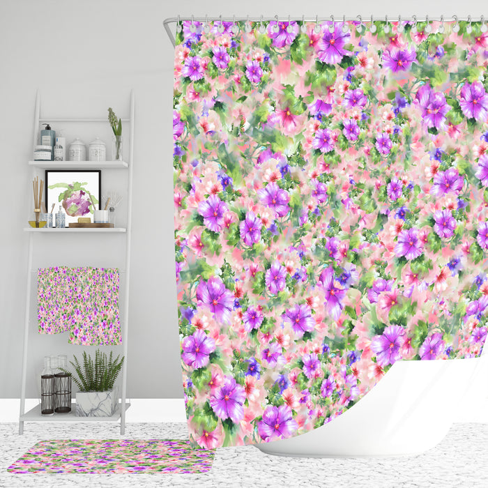 Chintz Floral Bathroom Decor