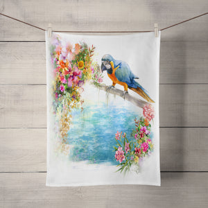 Tropical Theme Hand Towel