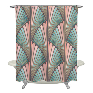 Deco Style Shower Curtain and Bathroom Decor
