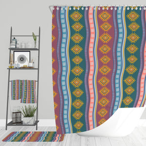 Southwest Boho Bathroom Decor Shower Curtain