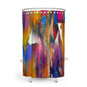 Twenty Twenty Abstract Shower Curtain