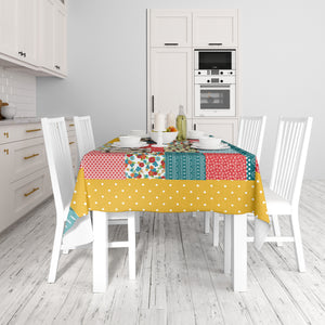 Peasant Hippie Farmhouse Table Cloth
