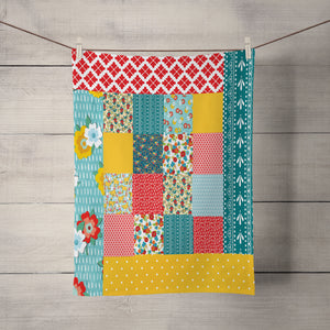 Peasant Hippie Farmhouse Tea Towel