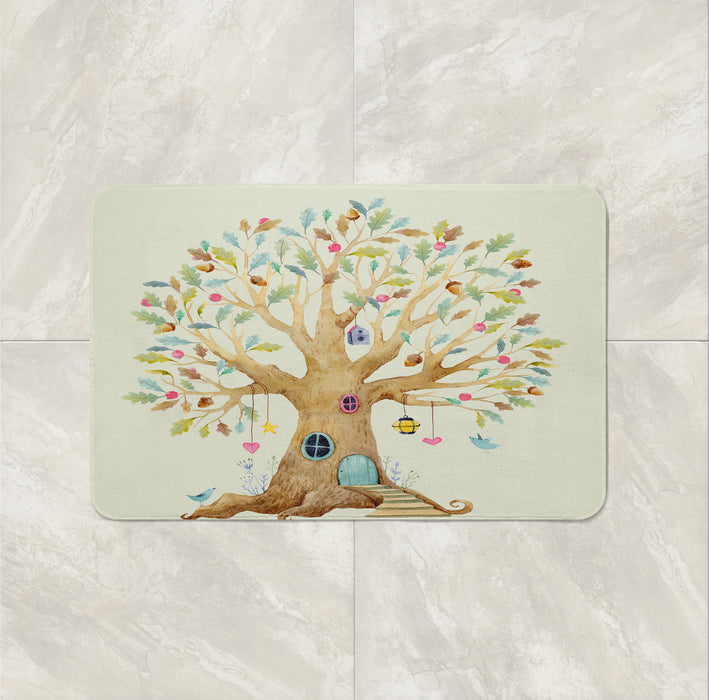 The Tree House Dreams Bath Mat