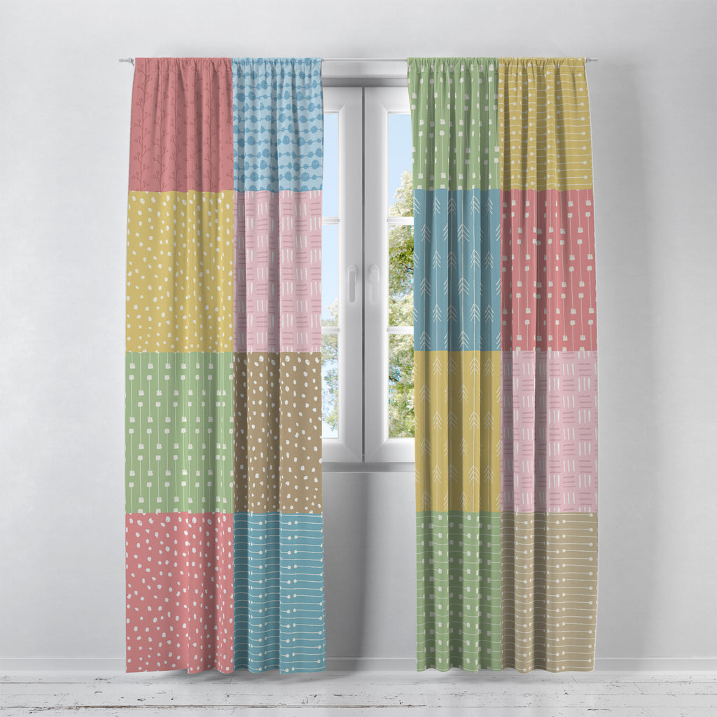 Boho Princess Window Curtains