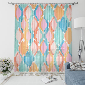 Marmalade Ikat Window Curtains
