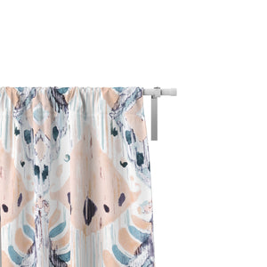 Tranquil Ikat Window Curtains