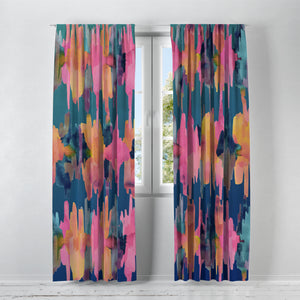 Resonant Hippie Window Curtains