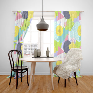 Memphis Style Window Curtains