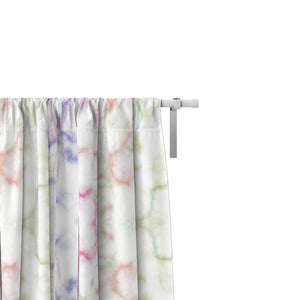 Pastel Marble Window Curtains