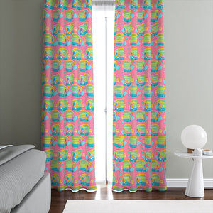 Tropical Fish Window Curtains