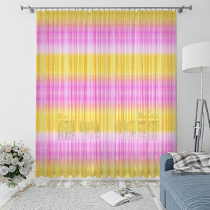 Tropical Pink Tie Dye Window Curtain