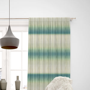 Green Fields Tie Dye Window Curtain