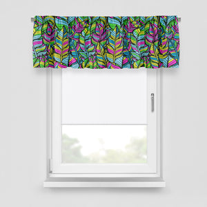 Wild Jungle Eclectic Window Curtains