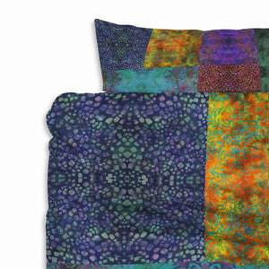 Bohemian Batik Bedding Set